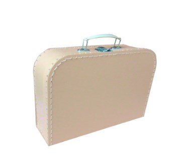 Children´s suitcase 25cm beige