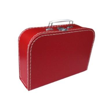 Children´s suitcase 25cm red