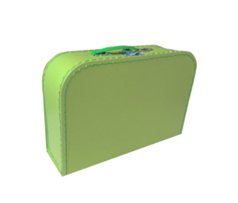 Children´s suitcase 25cm green