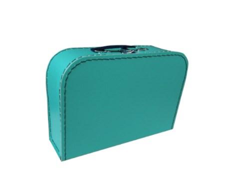 Children´s suitcase 25cm blue-green