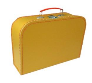 Children´s suitcase 25cm yellow