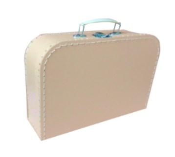 Children´s suitcase 30cm beige