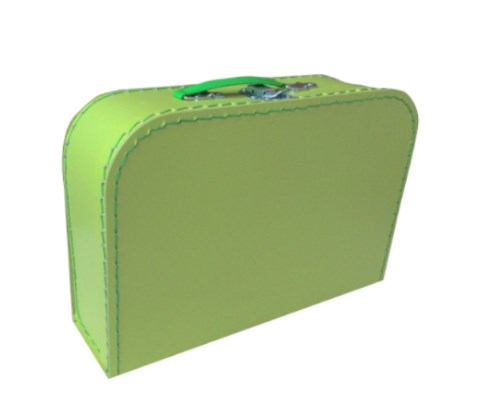 Children´s suitcase 30cm green