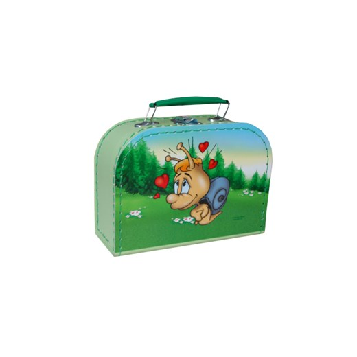 Children´s suitcase 20cm with a snail on the lid