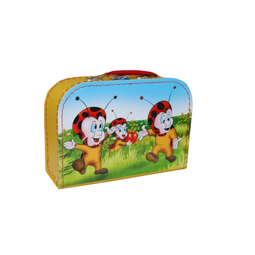 Children´s suitcase 25cm with ladybirds on the lid