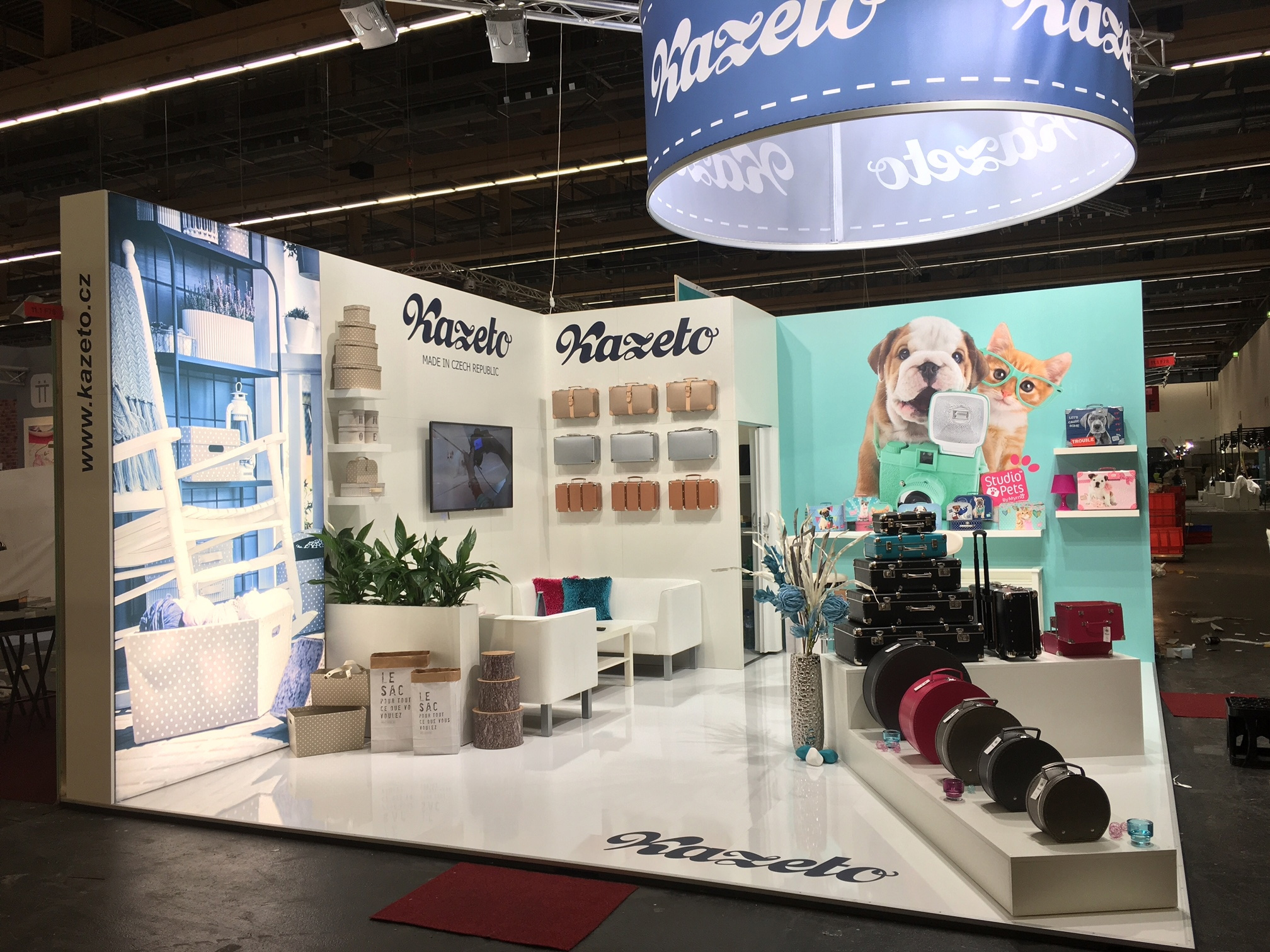 Kazeto on Ambiente - hall 11.1, stand F78, 12. – 16.2.2016, Frankfurt am Main