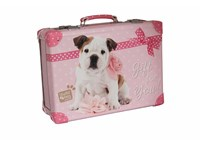 Riveted suitcase 40cm, Milly Studio Pets collection