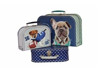 Children´s suitcase boys Studio Pets collection 3-set