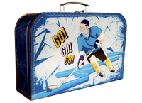 Children's suitcase 35cm ice hockey