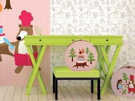 Kloboukovka Kazeto/DecorPlay pro holčičky v pokojíku