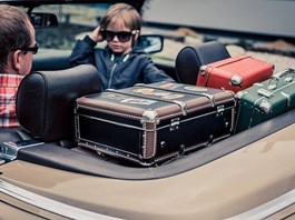 Cestujte stylově s retro kufry Kazeto.