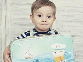 Dětský kufřík Námořník