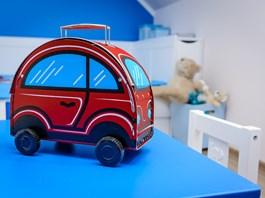 Dětský kufřík autíčko Kazeto