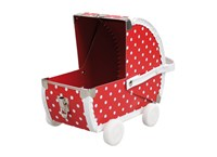Children´s suitcase baby pram red 22cm