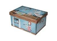 Storage box 48cm sailor, Chupikova collection