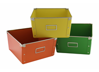 Conical box color 3-set