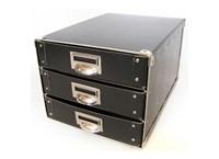 Drawer box A4 black