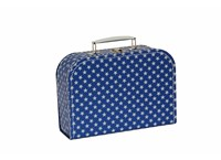 Children´s suitcase 25cm blue with stars Studio Pets collection