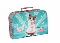 Children´s suitcase 30cm Kitty Studio Pets collection