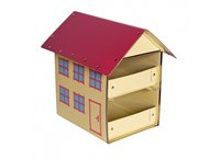 Children´s suitcase house