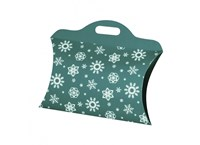 Christmas bag small blue-green