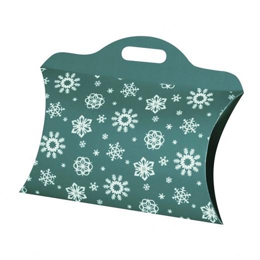 Christmas bag small blue-green