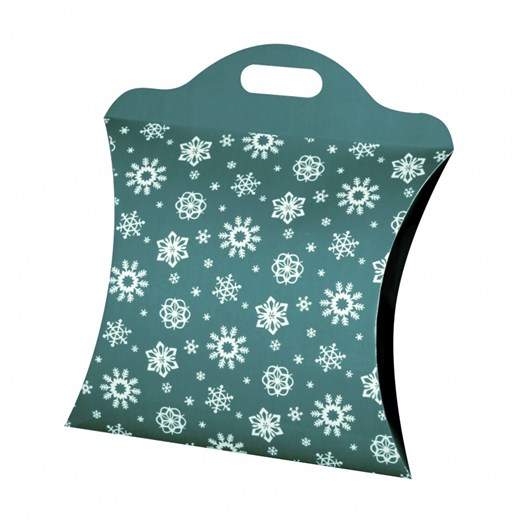 Christmas bag big blue-green