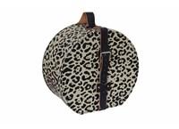 Hat box 40cm leopard