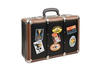 Riveted suitcase 40cm hotels