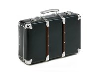 Riveted suitcase 40cm black