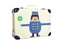 Children´s riveted suitcase 40cm Dispatcher DecorPlay