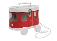 Children´s suitcase tram red