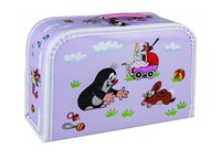Children´s suitcase 30cm Mole and stroller