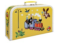 Children´s suitcase 35cm Mole and train