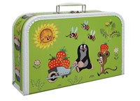 Children´s suitcase 35cm Mole and strawberries