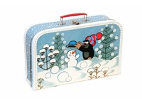 Children´s suitcase 35cm Mole and snowman