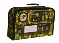 Children´s suitcase 35cm radio station
