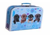 Children´s suitcase 35cm puppies