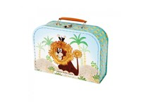 Children´s suitcase 25cm Mole and lion