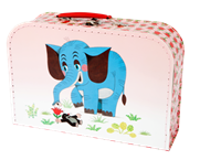 Children´s suitcase 30cm Mole and elephant