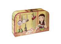 Children´s suitcase 35cm cook, Chupikova collection