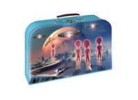 Children´s suitcase 35cm aliens
