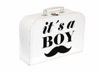 Children´s suitcase It is a boy! 30cm