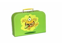 Children´s suitcase 20cm green monsters