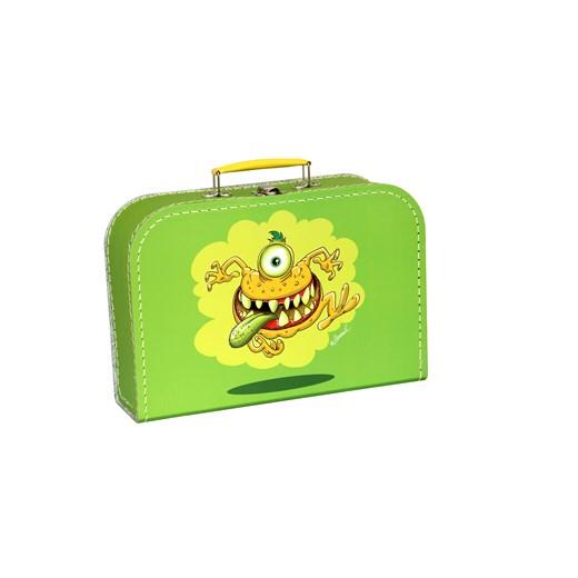 Children´s suitcase 20cm green monsters