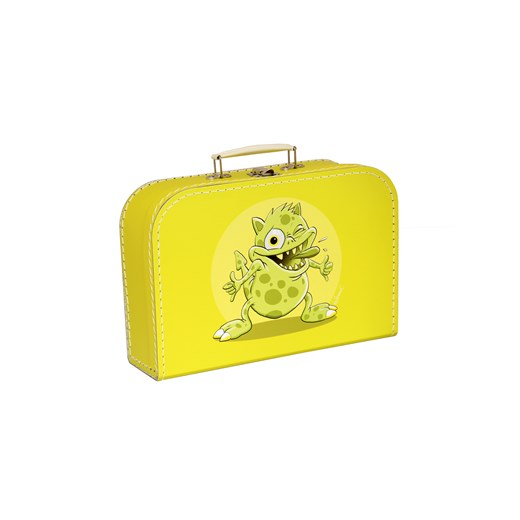 Children´s suitcase 20cm yellow monsters