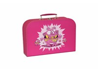 Children´s suitcase 20cm pink monsters