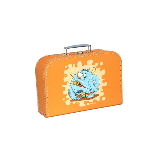 Children´s suitcase 20cm orange monsters