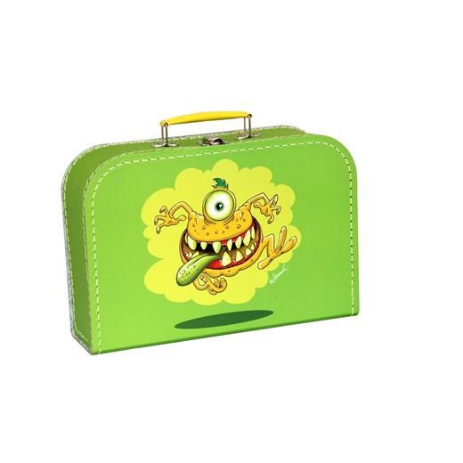 Children´s suitcase 25cm green monsters