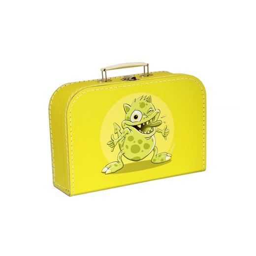 Children´s suitcase 25cm yellow monsters